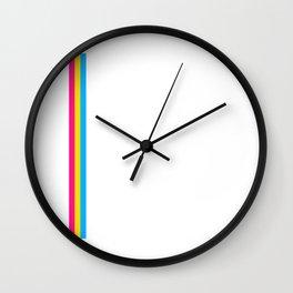 Pansexual Flag print LGBTQ Pride Gift Idea Wall Clock