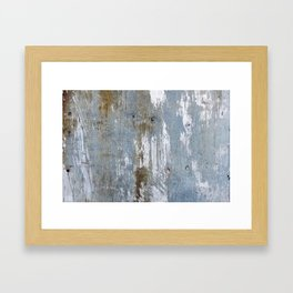 Abstract Rusty Grunge Metal Framed Art Print