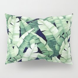 Banana leaves III Pillow Sham