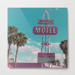 monterey motel las vegas 2 Metal Print