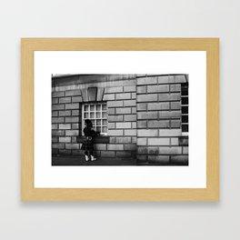 Scottish Musician Framed Art Print