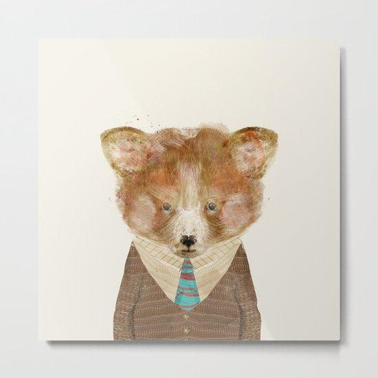 little red panda Metal Print