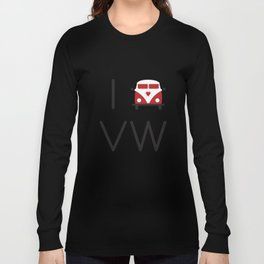 I heart Campervans Long Sleeve T-shirt