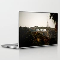 hollywood Laptop & iPad Skins featuring Hollywood by Claire Jantzen