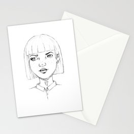 Doubt. Stationery Cards