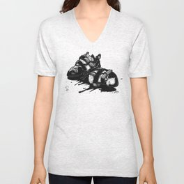 A DIFFERENT KETTLE OF FISH Unisex V-Neck