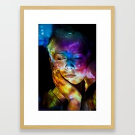 Universal Mind: Projection Series #8 Framed Art Print