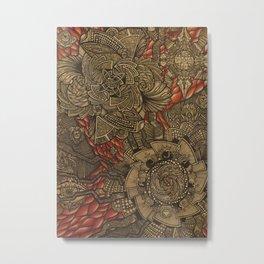 Intestine  Metal Print