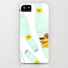 Topo Chico Sparkling Water Seltzer Bottle iPhone Case