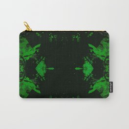 Galaxy Question (green) Carry-All Pouch