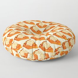 Pumpkin Pie Pattern Floor Pillow