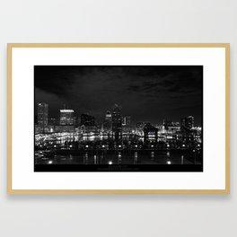 BALTIMORE CITY Framed Art Print