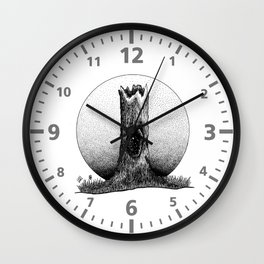 No Tree is Ever Hollow Wall Clock