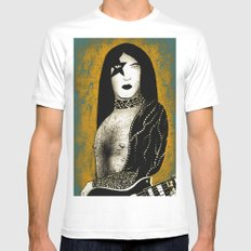 Poster The Great Paul Stanley White MEDIUM Mens Fitted Tee
