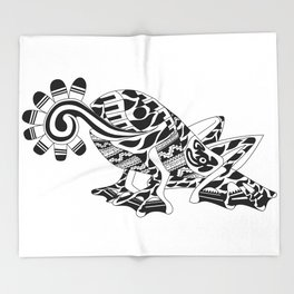 Frog Ecopet Throw Blanket