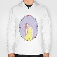 belle Hoodies featuring Belle by Anca Avram