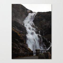 Stigfossen Canvas Print