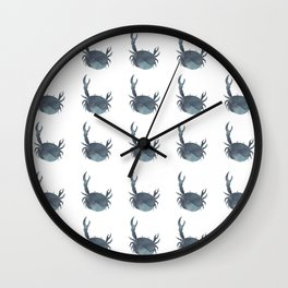 Feeling Crabby Wall Clock