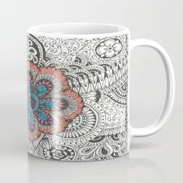 Flower-tangle Coffee Mug