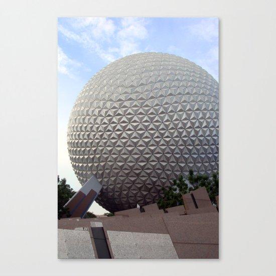 Spaceship Earth Canvas Print