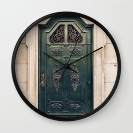 Vintage Italien Door Wall Clock