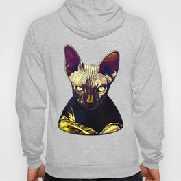 sphynx cat from hell vafn Hoody