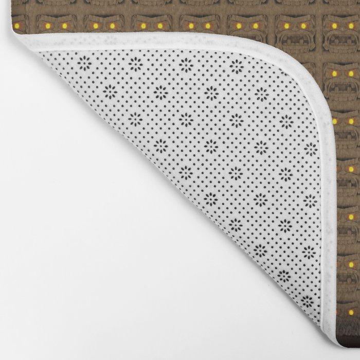 Maya pattern 4 Bath Mat