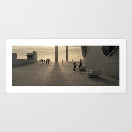 moments d'architecture Art Print