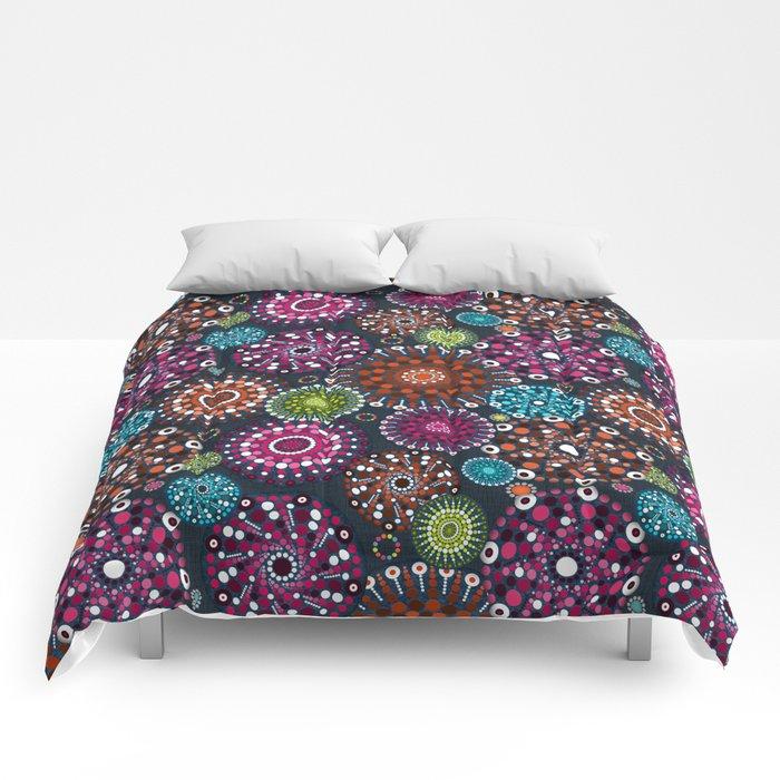Mandala Dots Comforters