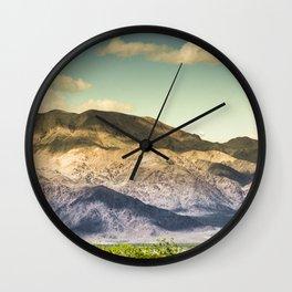 Landscape Joshua Tree 7370 Wall Clock
