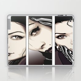 Miradas Laptop & iPad Skin