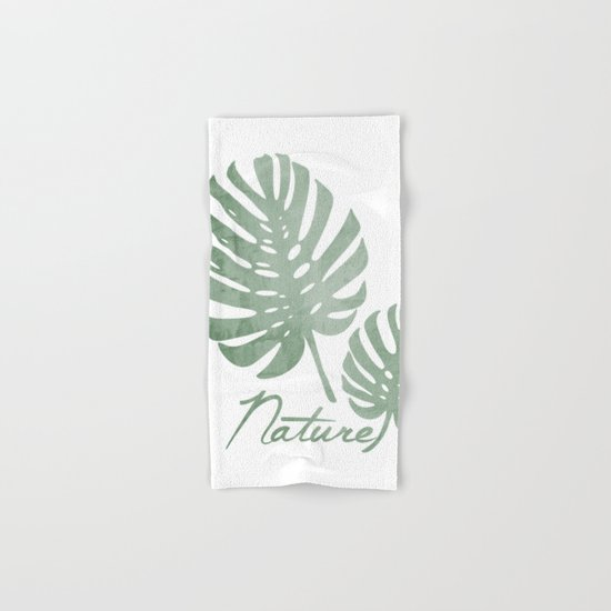 Nature Hand & Bath Towel
