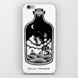 COLLECT MEMORIES iPhone Skin