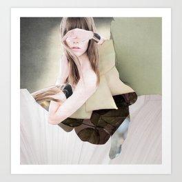 Blindly seeing Art Print