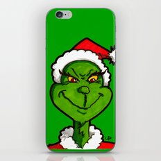 How Grinchy! iPhone & iPod Skin