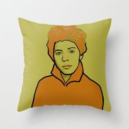 Lorraine Hansberry Throw Pillow