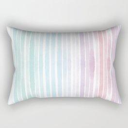 Watercolor lines Rectangular Pillow