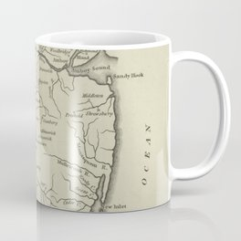 Vintage Map of New Jersey (1794) Coffee Mug