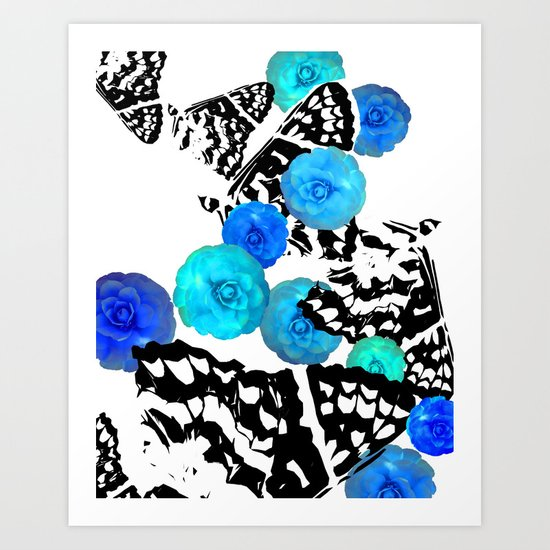 Camellia Aire Art Print