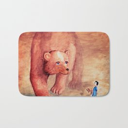 Teddy Bear's Family Bath Mat