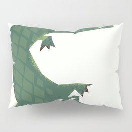 Snapping vintage Alligator Pillow Sham