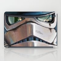 stormtrooper iPad Cases featuring Stormtrooper by Mel Hampson