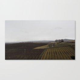 yakima valley orchard after rain Canvas Print