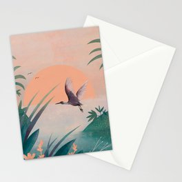 Secret oasis II Stationery Cards
