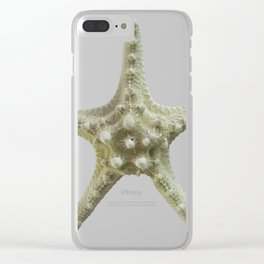 Knobby Starfish Clear iPhone Case