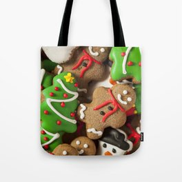 Delicious Christmas Cookies Tote Bag