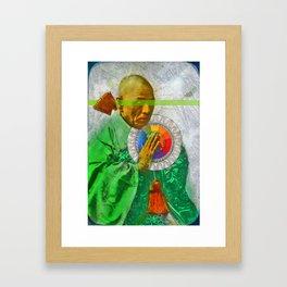 aucune partie de toi-même. Framed Art Print