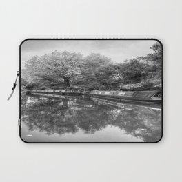 Narrow Boats Grand Union Canal Laptop Sleeve