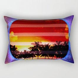 Synthwave Poster v.1 Rectangular Pillow