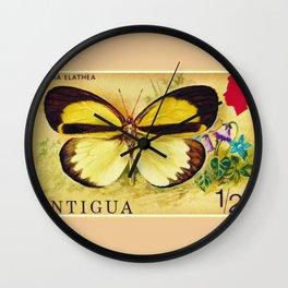 Eurema Elathea Wall Clock